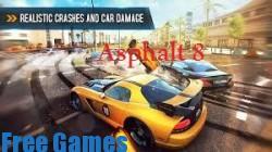 تحميل لعبة سباق السيارات اسفلت Asphalt 8: Airborne للاندرويد مجانا