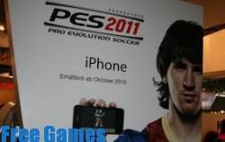 تحميل لعبة بيس PES 2011 مجانا للايفون والايباد