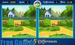 تحميل لعبة اختلافات بين الصور الخمسة للاطفال للكمبيوتر جديدة مجانا الالعاب