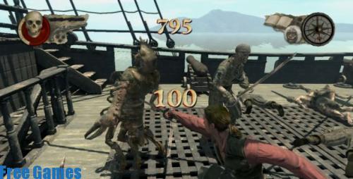 تحميل لعبة قراصنة الكاريبي 2 مضغوطة برابط واحد مجانا