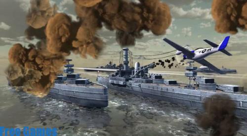 تحميل لعبة warship battle للاندرويد