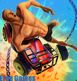 تحميل لعبة guts and wheels 3d للاندرويد مجانا