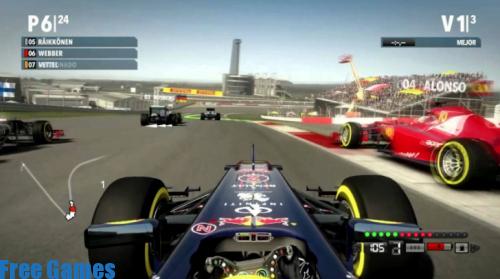 تحميل لعبة السباق المشهورة formula 1 مجانا