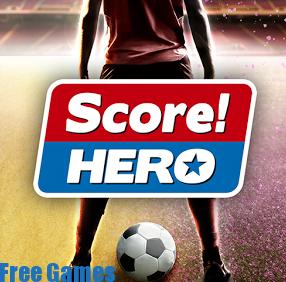 تحميل لعبه كرة القدم الشهيرة Score Hero للأندرويد مجانا