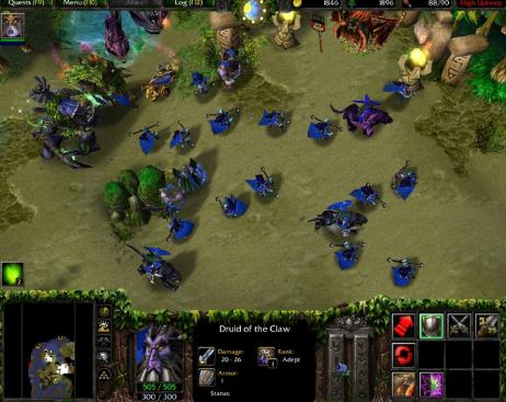تحميل لعبة وار كرافت 3 كاملة مجانا للكمبيوتر
